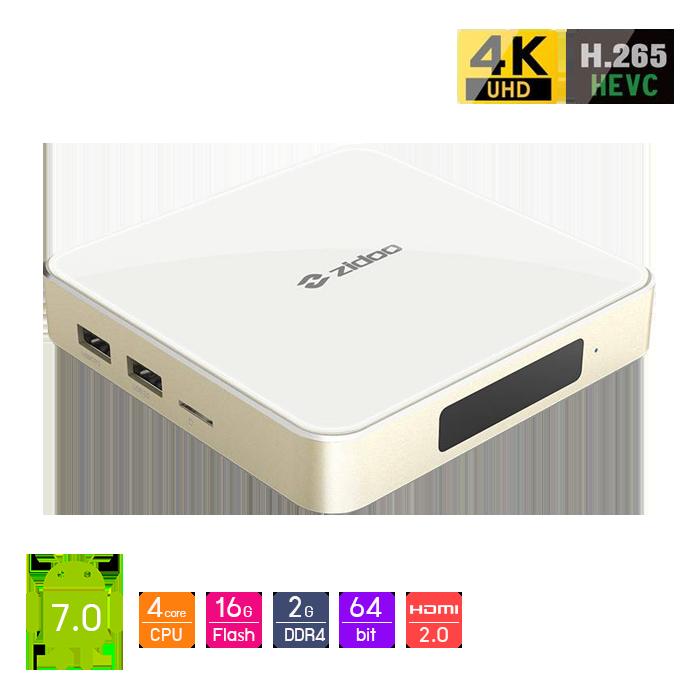 Android Box Zidoo H6 Pro